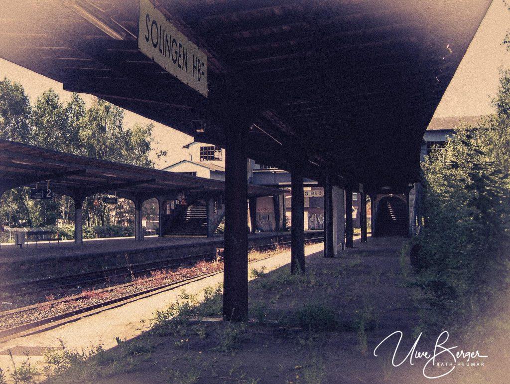 Fotos vom Solinger Hauptbahnhof aus 2002